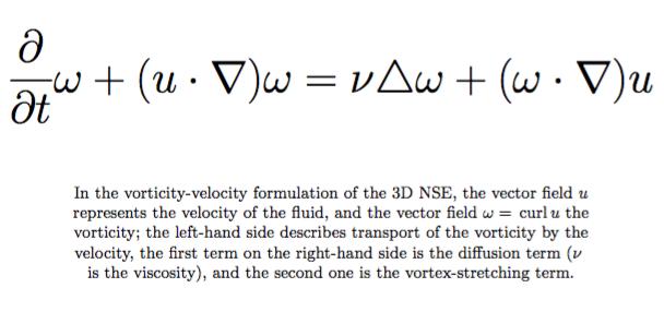 Math behind Turbulence equation